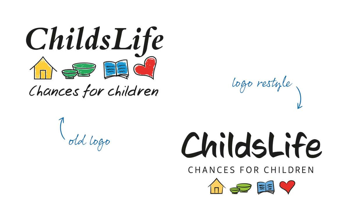 Logo and corporate identity restyle