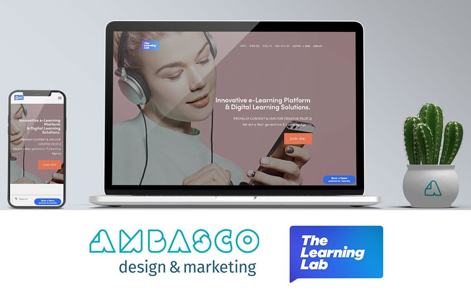 Ambasco Design & Marketing and TheLearning LAB join forces