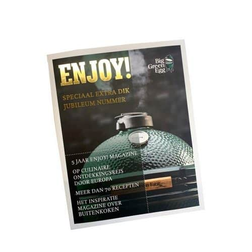 Big Green Egg Enjoy Magazine. Jubileum editie.