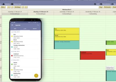 logopedie software app agenda