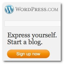 WordPress blog beginnen