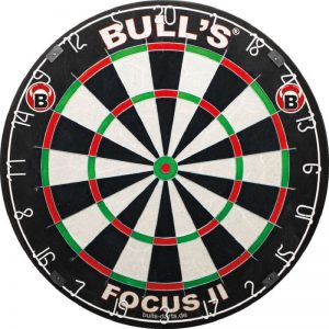 Focus 2 dartbord van Bull's Germany Darts