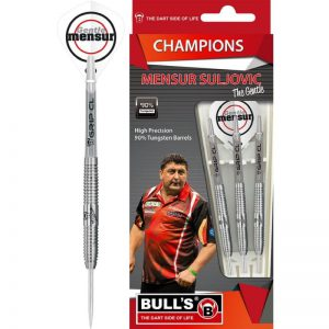 Mensur Suljovic dartpijlen van Bull's Germany darts