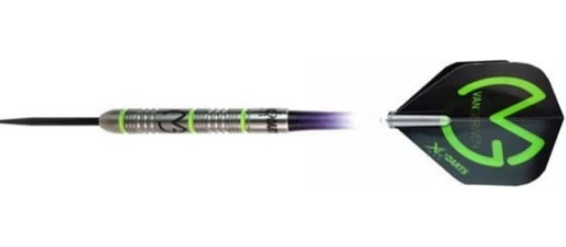 Michael van Gerwen Green demolisher darts