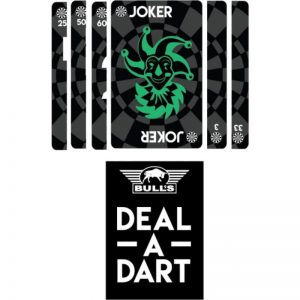 Bulls Deal a dart playing cards