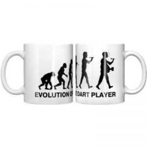 Evolution Darts mug