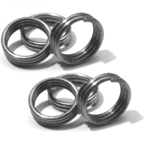 Shaft rings silver