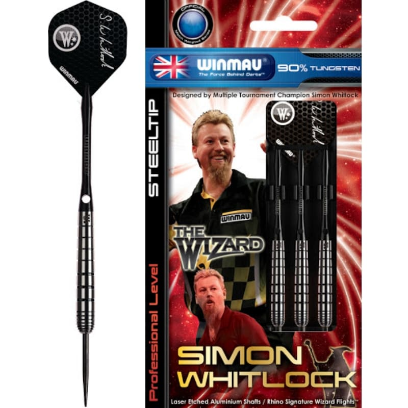 Simon Whitlock Wizard dartpijlen