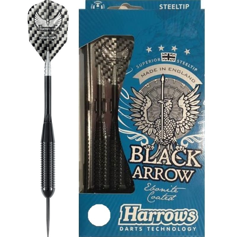 Harrows Black Arrow dartpijlen 22gR