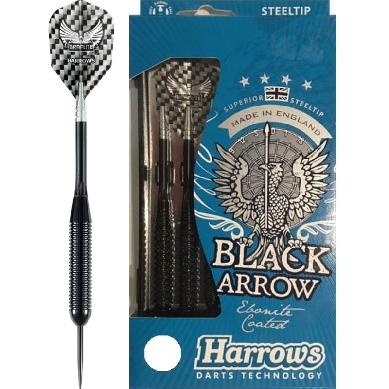 Harrows Black Arrow dartpijlen 24gR